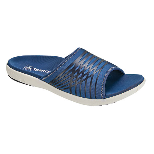 Spenco Navy Thrust Slides