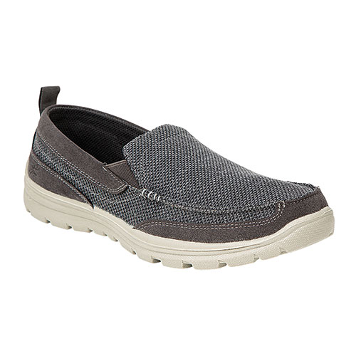 Deer Stags Grey Fitz Casual Slip-Ons