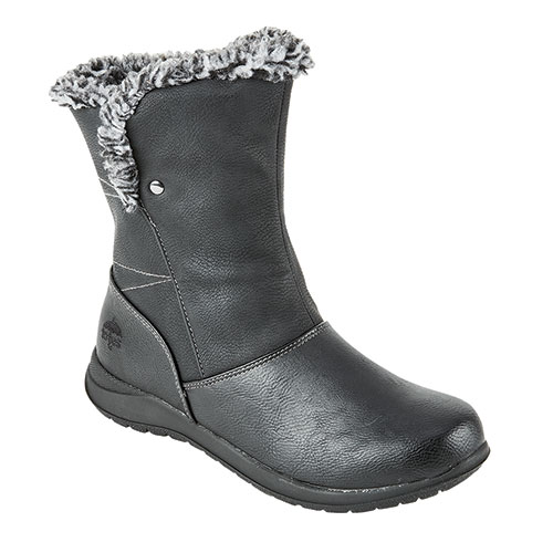 Totes Lara Women's Black Waterproof Boots