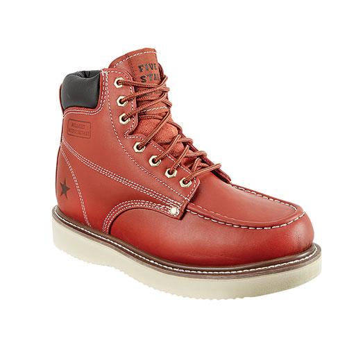 Five Star Full-Grain Leather Men's Work Boots
