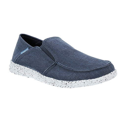 Island Surf Women's Navy Slip-On Shoes