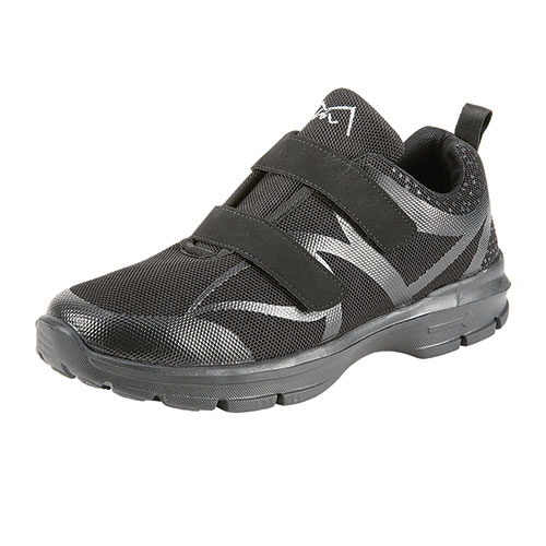 M-Air Men's Black Ultralight Pacer Shoes