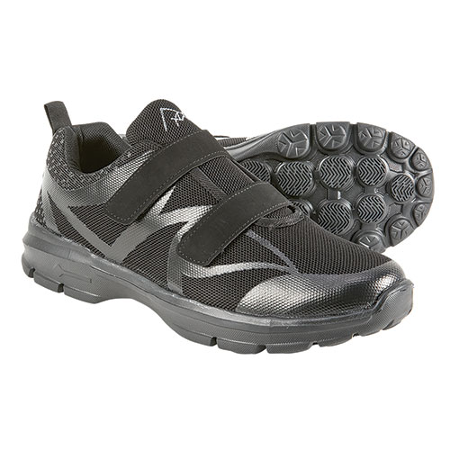 M-Air Women's Black Ultralight Velcro Shoes