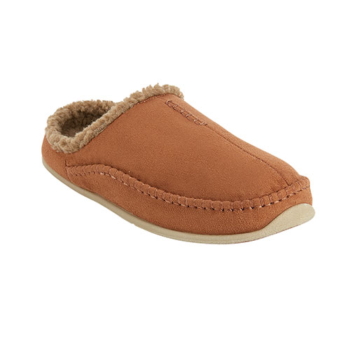 Deer Stags Men's Chestnut Nordic Slippers