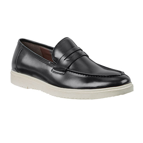 Roma Rio Men's Black Slip-On Shoes