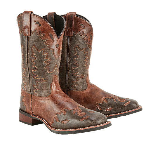 Laredo Lonetree Leather Western Boots