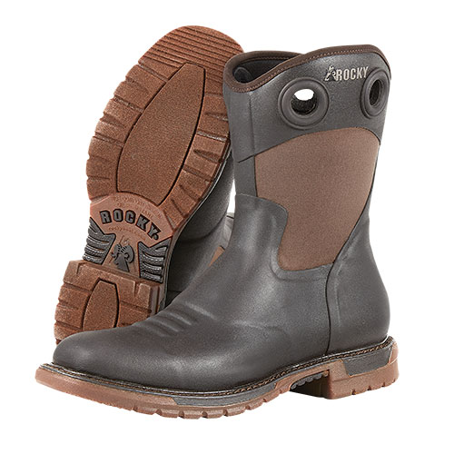 Rocky Original Ride FLX Rubber Western Boot