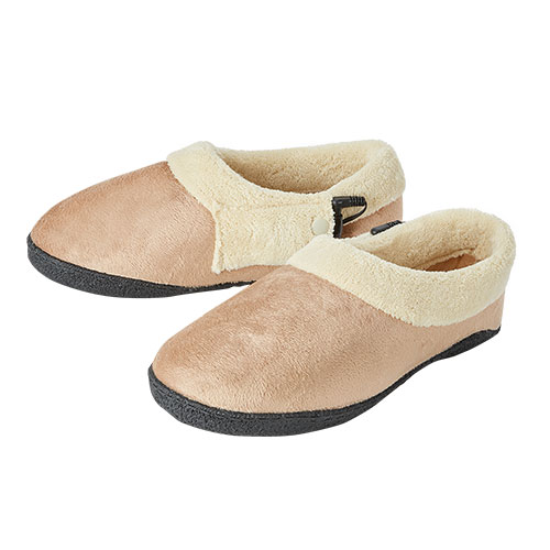 Stay Warm Memory Foam Heated Slippers