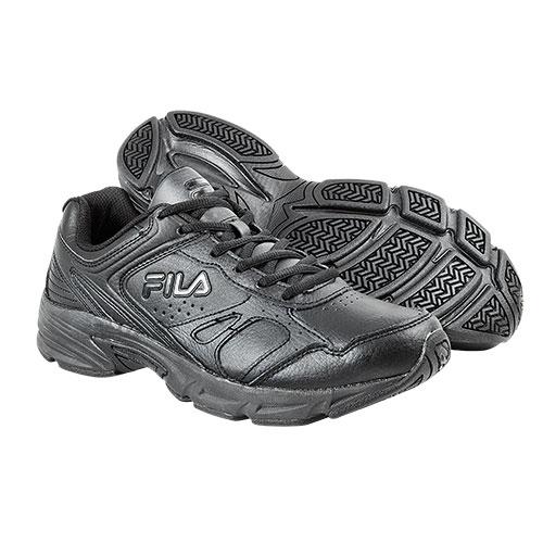FILA Men's Black Workplace Shoes