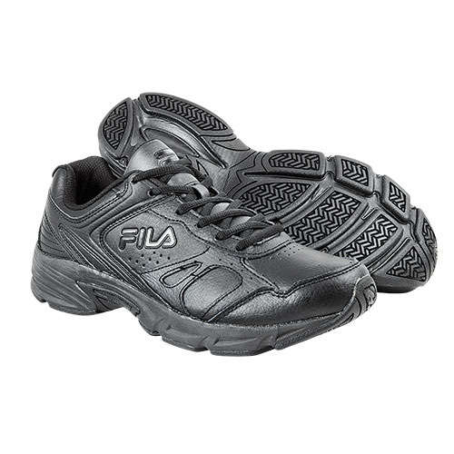 FILA Men's Black Workplace Shoes