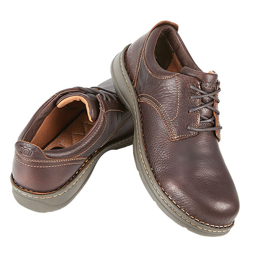 Carolina Aluminum-Toe Oxford Shoes