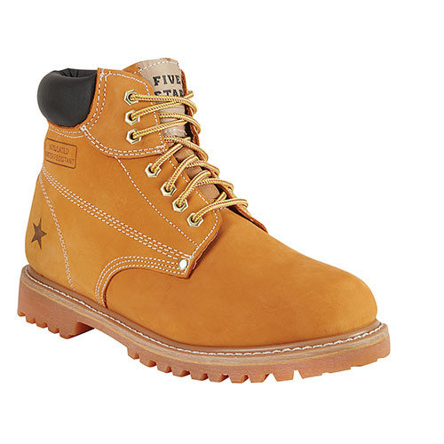 Five Star Men's Leather Workboots