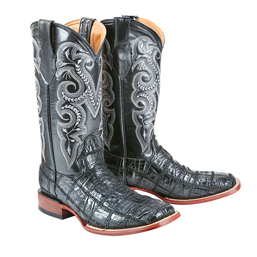 Ferrini St. Caiman Patch Men's Boots