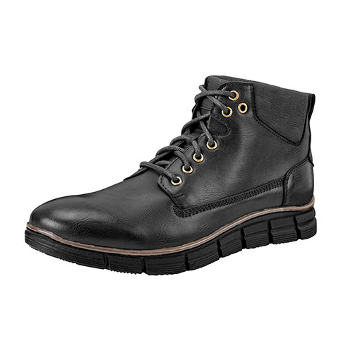 Roma Rio Men's Black Fashion Work Boots