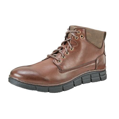 Roma Rio Men's Coffee Fashion Work Boots