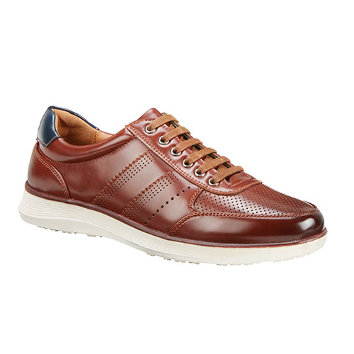 Roma Rio Men's Tan Casual Lace-Up Shoes