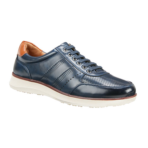 Roma Rio Men's Navy Casual Lace-Up Shoes