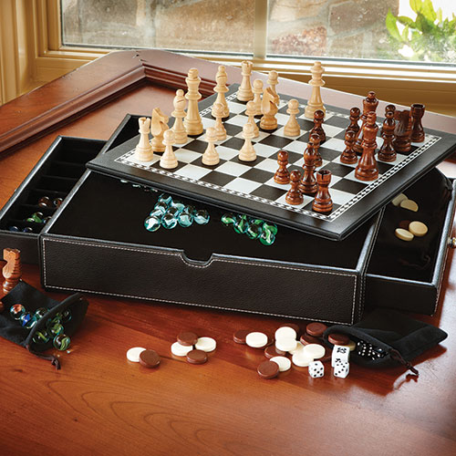 Mainstreet Classics 5-In-1 Game Combo Set