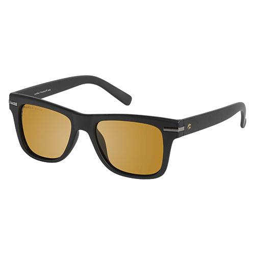 Eagle Eyes Swift Black Retro Sunglasses