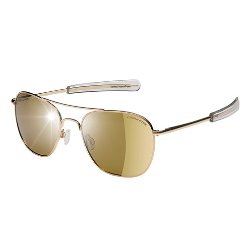 Eagle Eyes Gold Freedom Sunglasses