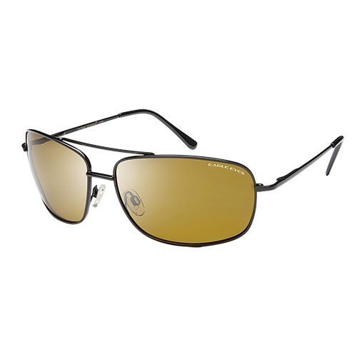 Eagle Eyes Navigator Black Sunglasses