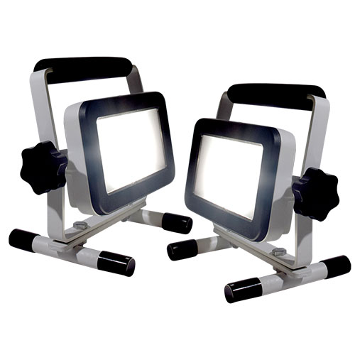 Portable Work Lights - 1200 Lumen