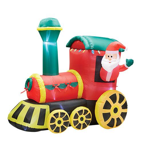 Magical Christmas Train Inflatable
