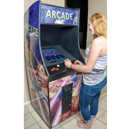 Upright Classic Arcade Game