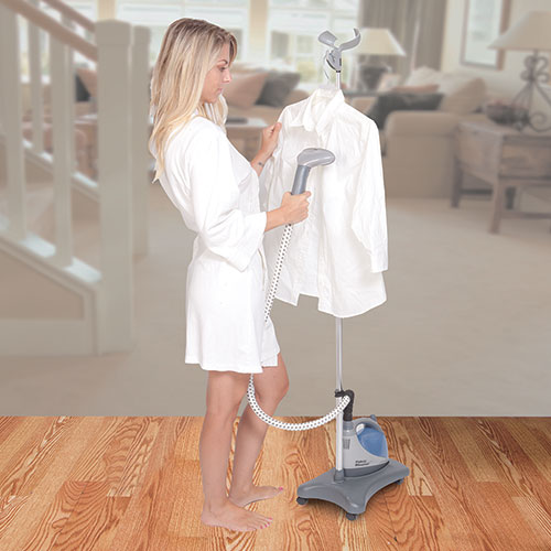 Shark Fabric/Garment Steamer with Stand