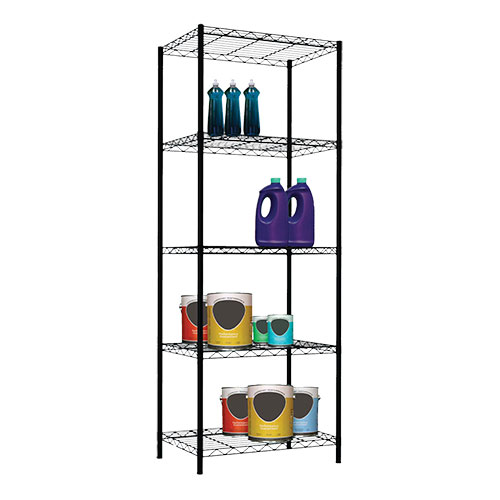 Home Basics 5-Tier Metal Wire Shelving