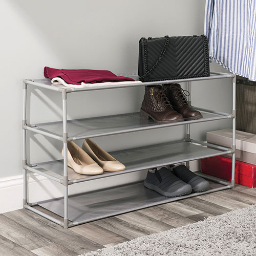 Home Basics 20-Pair Shoe Rack