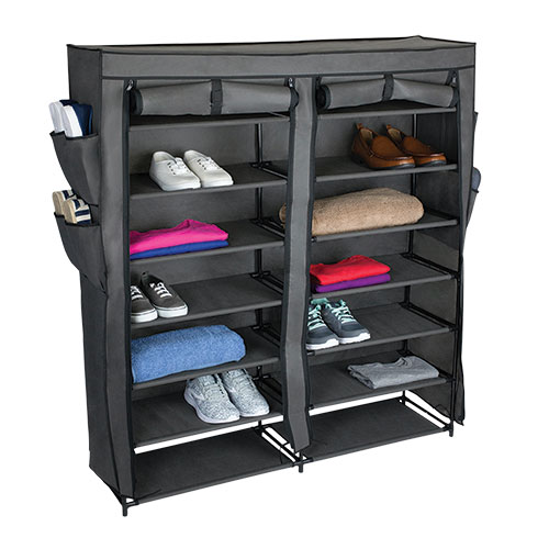 Home Basics 7-Tier Multi-Purpose Closet