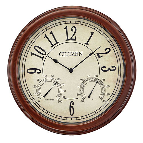 Citizen Indoor/Outdoor Wall Clock