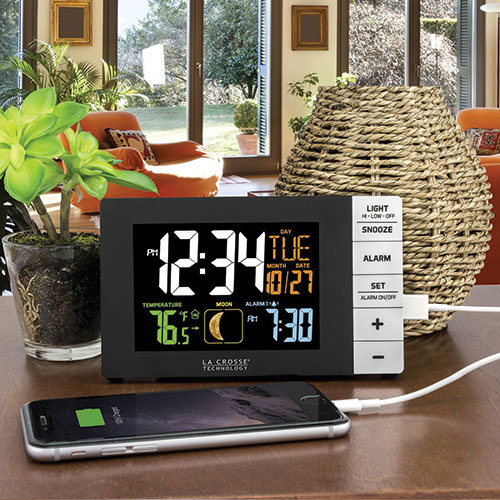 La Crosse Multi-Color Alarm Clock