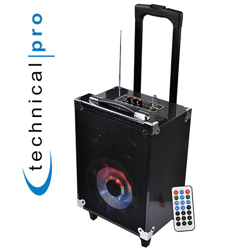 8in Bluetooth Portable Speaker System
