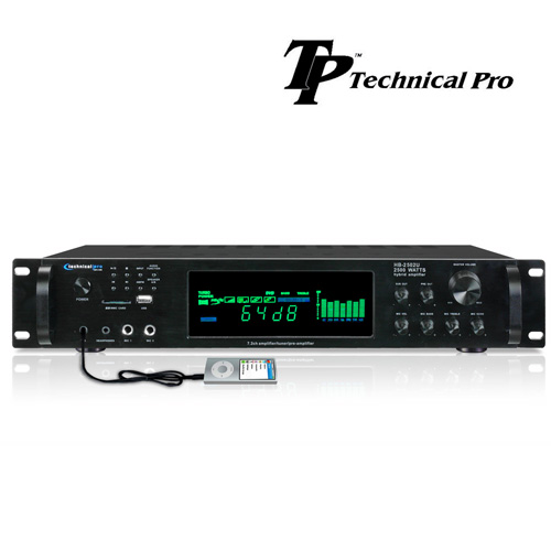 Technical Pro 2500W Digital Amplifier With AM And FM