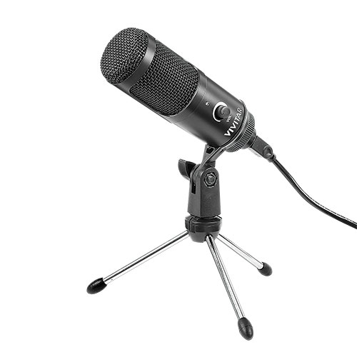 Vivitar Podcast and Social Media Microphone