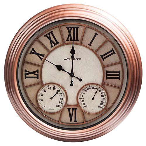 Indoor/Outdoor Clock Thermometor