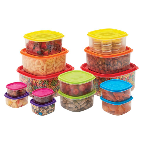 Home Basics 28 Piece Food Storage Set