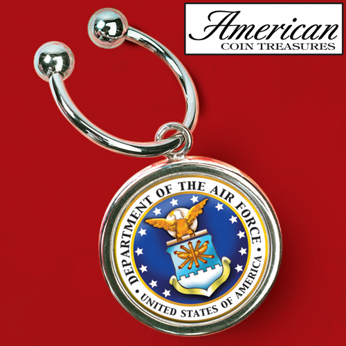 Air Force JFK Key Ring