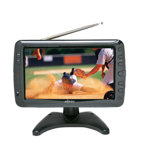 Axess Portable 9 inch LCD TV