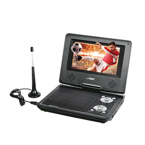 Naxa 7 inch Portable DVD Player With TV Tuner