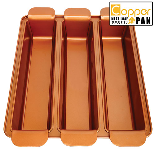 Copper Loaf Pan Set