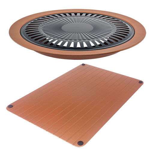 Copper Defrosting Tray and Stove Grill