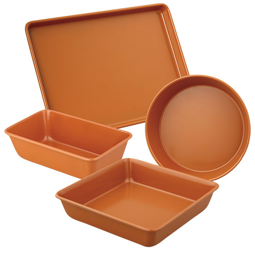 Copper Bakeware Set - 4 Piece