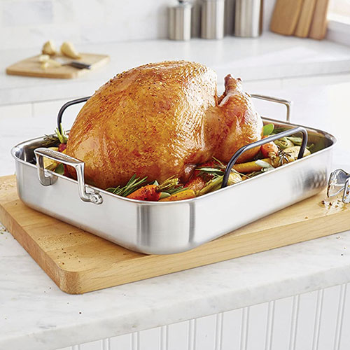 Kitchenaid Stainless Steel Roaster with Rack