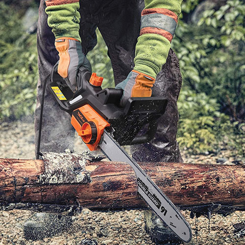 TACKLIFE 18 inch Electric Chainsaw