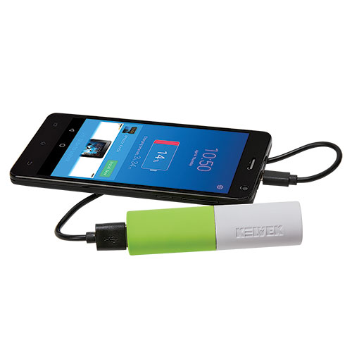 Kelvek 2600mAH Power Bank - 2 Pack