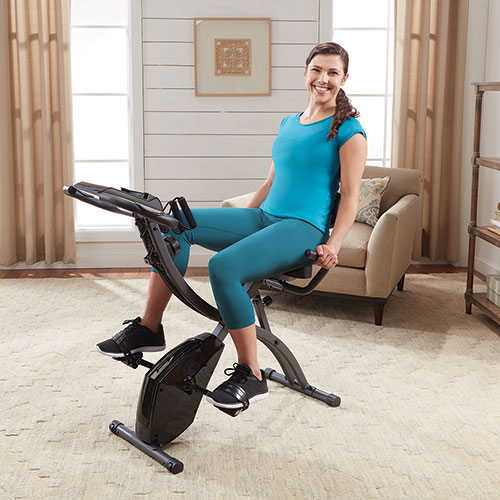 Slim Cycle 2-in-1 Exercise Bike