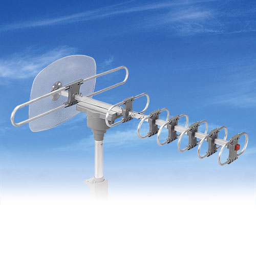 QFX 360 Degree Motorized Rotating HDTV Antenna
